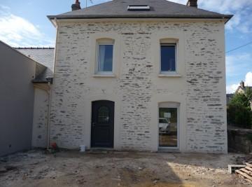 Ravalement de façade 35 Bruz Ille et Vilaine - Pierres Vues